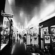 the miracle mile shops at planet hollywood casino Las Vegas Nevada USA Art Print