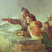 The Missing Boat, C.1876 Art Print
