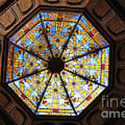 The Mission Inn Looking Up Art Print