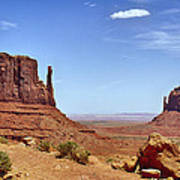 The Mittens Monument Valley Art Print