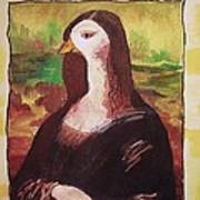 The Mona Goosa Art Print