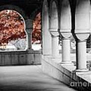 The Monastery In Autumn Art Print