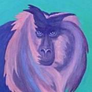 The Monkey's Mane Art Print