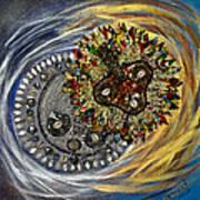 The Moon's Eclipse Art Print