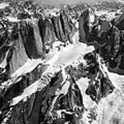 The Mooses Tooth Alaska Art Print