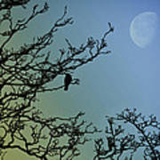 The Morning Moon Art Print