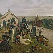 The Morning Of The Battle Of Waterloo Art Print