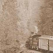The Morning Train Art Print