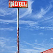 The Motel Palm Springs Desert Hot Springs Art Print