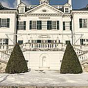 The Mount Edith Warton Estate Lenox Ma Art Print