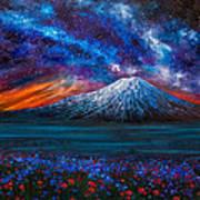 The Mountain Of Memories Art Print