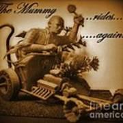 The Mummy Rides In Halifax Art Print