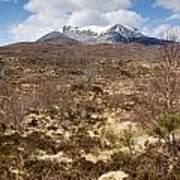 The Munro Of Sgurr Nan Fhir Duibhe Art Print