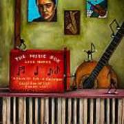 The Music Box Edit 3 Art Print
