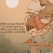 The Music Of Hope Art Print