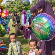 The Muslim Festival Of Eid Al-fitr Is Celebrated Around The Uk Art Print