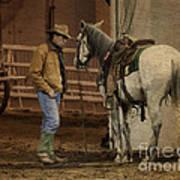 The Mustang Whisperer Art Print