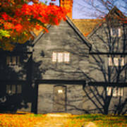 The Mysterious Witch House Of Salem Art Print
