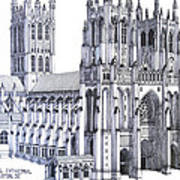 The National Cathedral Art Print