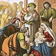 The Nativity Art Print by English School