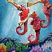 The Neptunes -- Trumpeteers Art Print