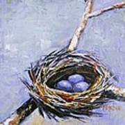 The Nest Art Print by Brandi  Hickman