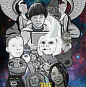 The Neverending Story Art Print by Gary Niles