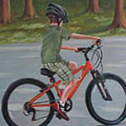The New Bike Art Print