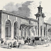 The New Bricklayers Arms Terminus Of The South-eastern Art Print