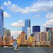 The New New York Skyline Art Print