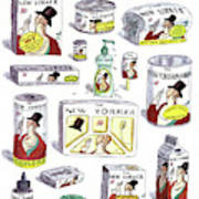 The New Yorker Repackaged Art Print