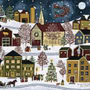 The Night Before Christmas Art Print