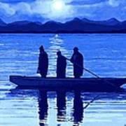 The Night Fishermen Art Print