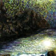 The Night Of Nereides By Yujin Chung 9th Grade Art Print