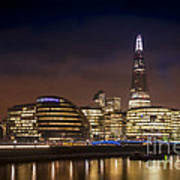 The Night Shard Print by Donald Davis