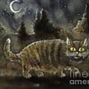 The Night Stalker Art Print