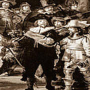 The Night Watch By Rembrandt Art Print