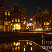 The Nine Streets Amsterdam Art Print