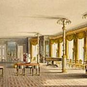 The North Drawing Room, Or Music Room Art Print