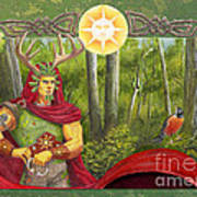 The Oak King Art Print