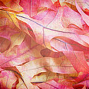 The Oak Leaf Pile Art Print