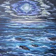 The Ocean Sings The Sky Listens 2 Art Print by Cheryl Pettigrew