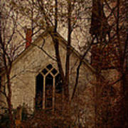 The Old Abandoned Church Art Print