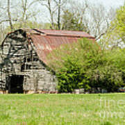 The Old Barn Art Print