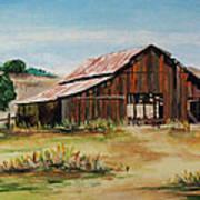 The Old Barn Art Print