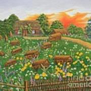The Old Beekeeping Museum Art Print
