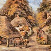 The Old Blacksmiths Forge  Art Print