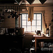 The Old Camp Kitchen Art Print