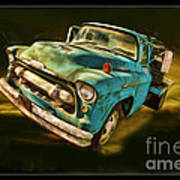 The Old Chevy Max Art Print