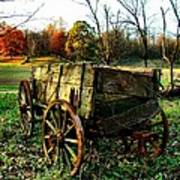 The Old Conestoga Print by Julie Dant